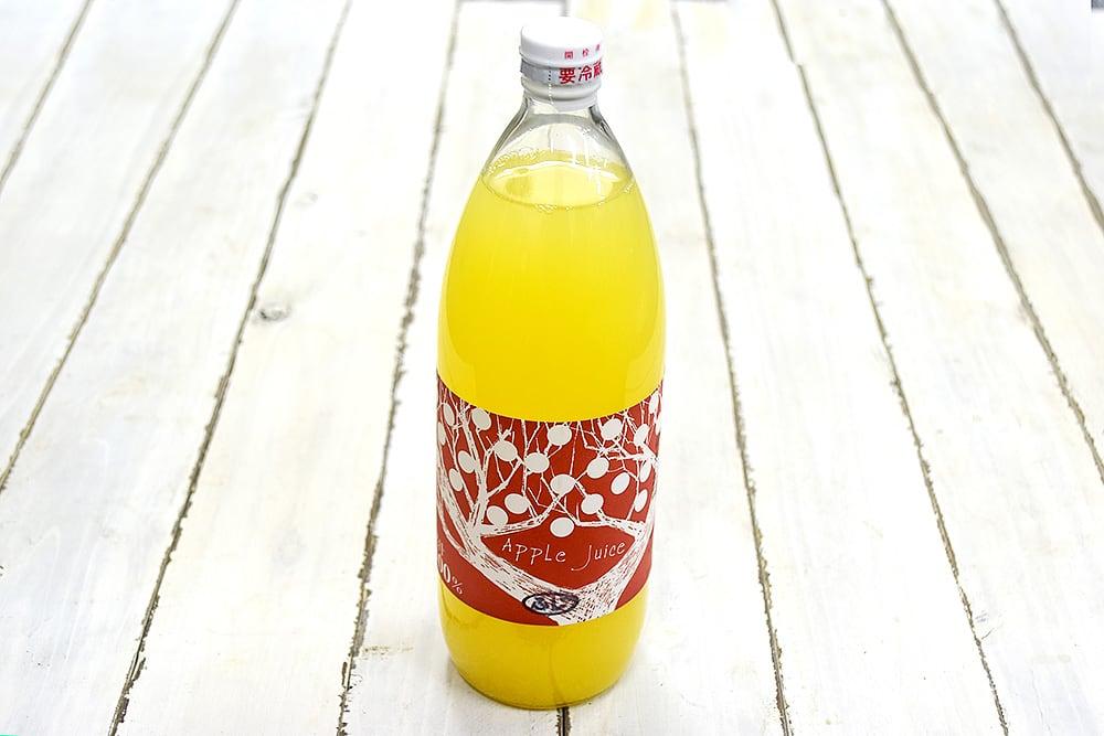 小林さんのりんごジュース・ふじ(長野県産)