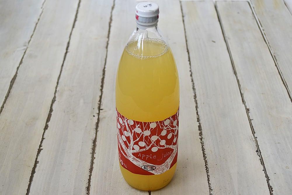 小林さんのりんごジュース・紅玉(長野県産)