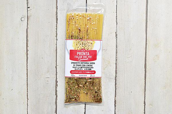 カーサ・モリミさんのサルデーニャ産マグロのからすみスパゲッティレモン風