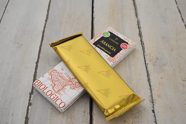 カーサ・モリミさんの有機モディカチョコレート・オレンジ