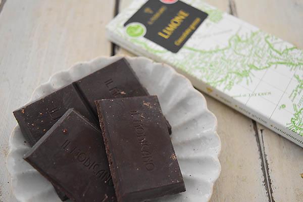 カーサ・モリミさんの有機モディカチョコレート・レモン