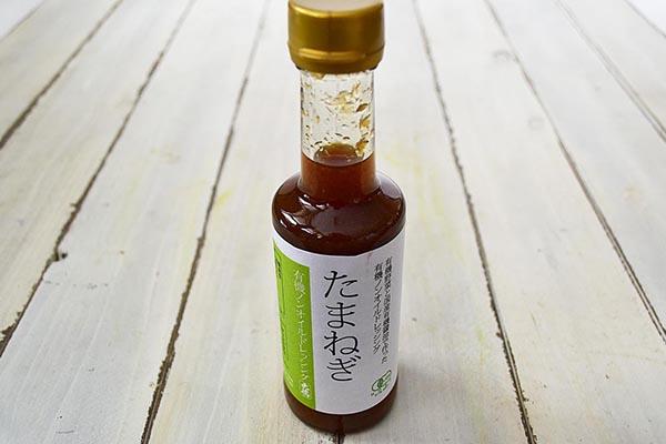大徳醤油さんの有機ノンオイルドレッシング たまねぎ(兵庫県産)