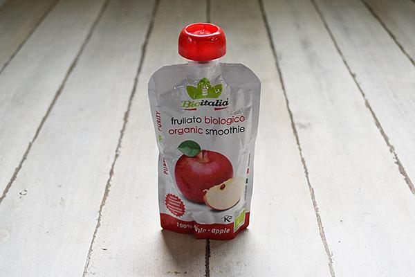 有機スムージー・りんご