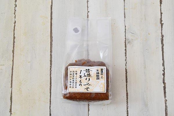 星六さんの昔造り味噌(新潟県産)
