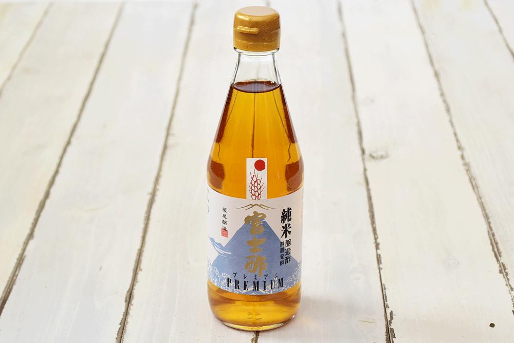 飯尾醸造さんの富士酢プレミアム(京都府産)