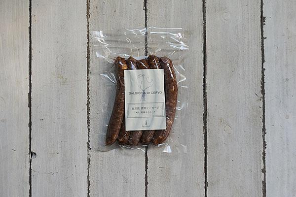 Naturaleさんの鹿肉ソーセージ粗挽きスモーク