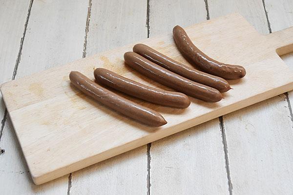 Naturaleさんの鹿肉ソーセージ細挽きスモーク
