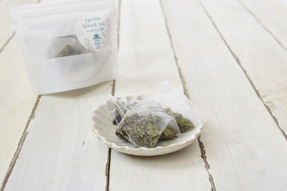 えこびと農園さんのえごまブレンド茶(佐賀県産)
