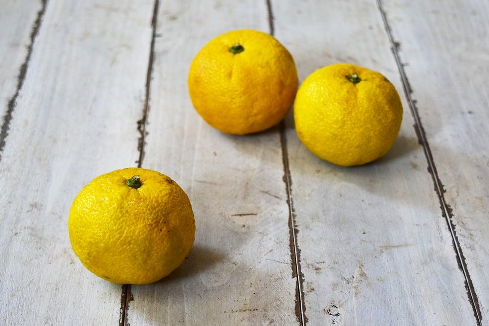 奥村さんの本柚子(愛知県産)