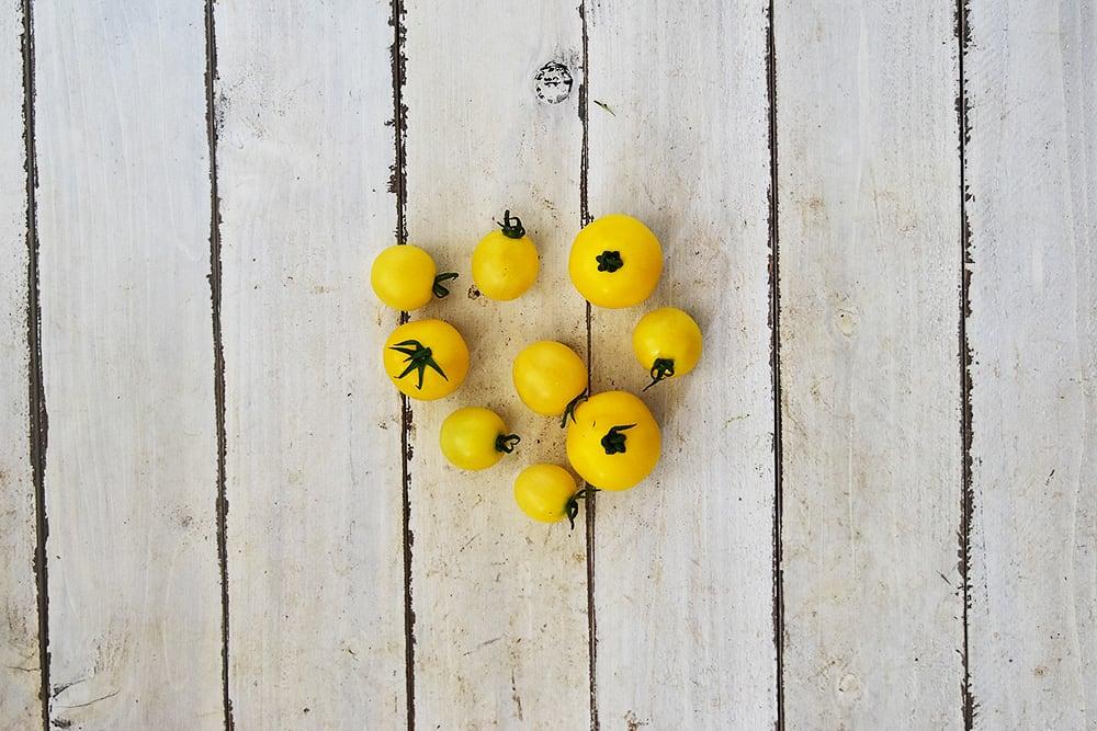 植月さんのミニトマト・黄(岡山県産)