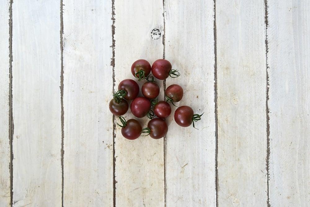 植月さんのミニトマト・紫(岡山県産)