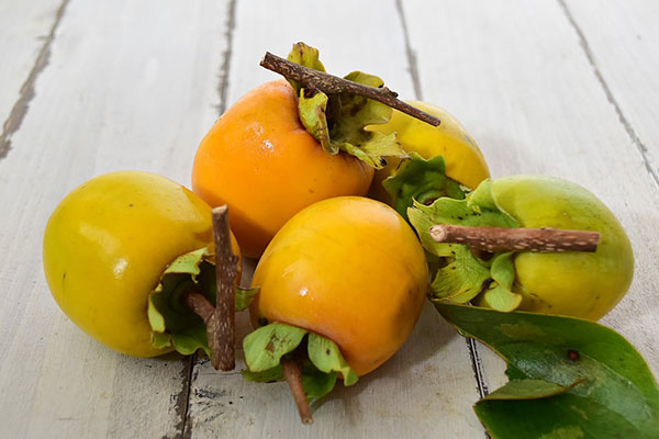 實田さんの干し柿用柿(三重県産)