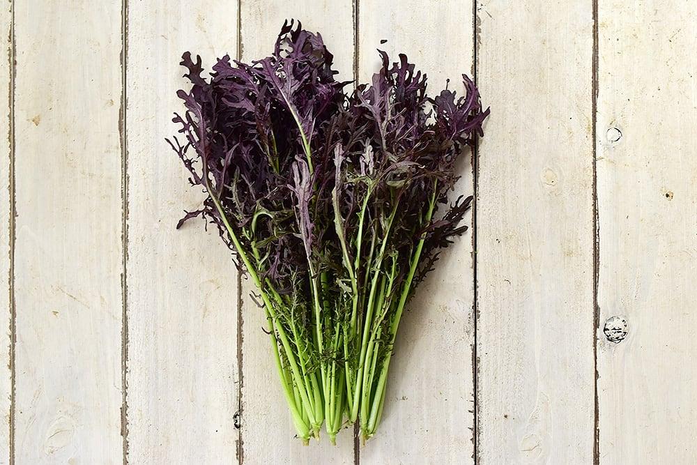 小野さんの紫からし菜(徳島県産)