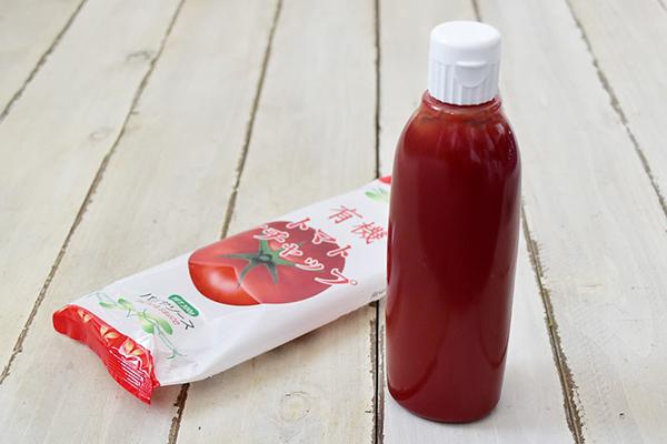 パパヤソースさんの有機トマトケチャップ