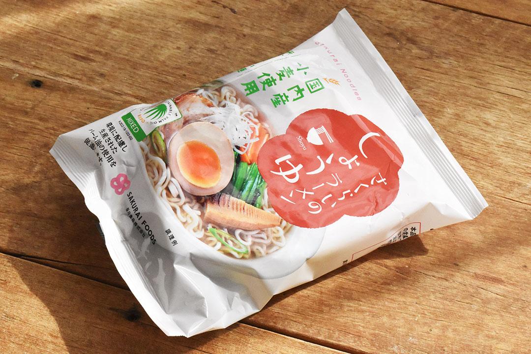 桜井食品株式会社さんのラーメン・しょうゆ