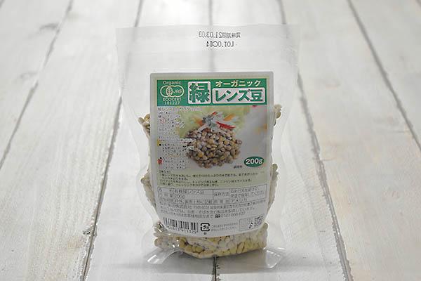 桜井食品株式会社さんの緑レンズ豆