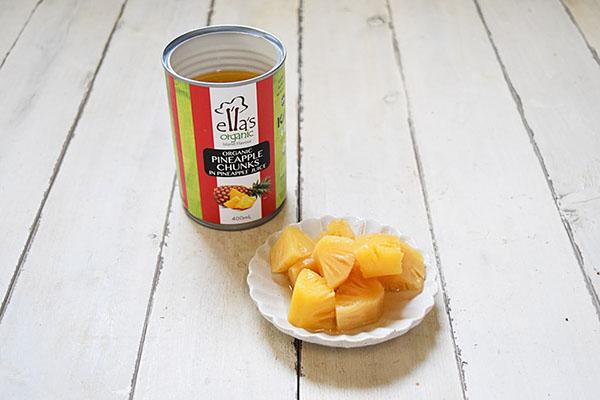 創健社さんのパイナップル缶