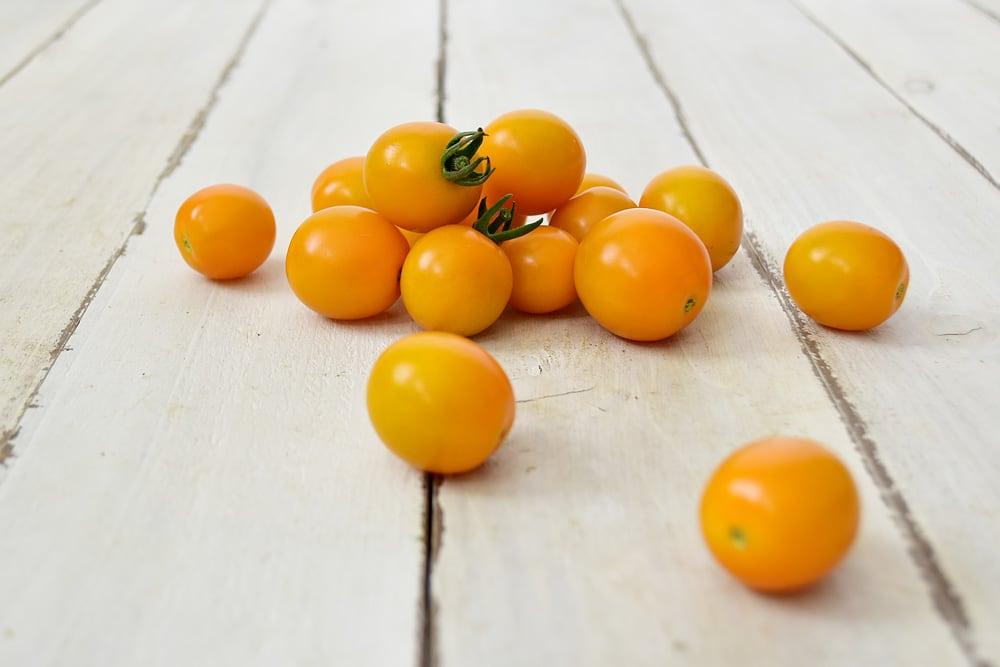 西前さんのミニトマト・オレンジキャロル(奈良県)