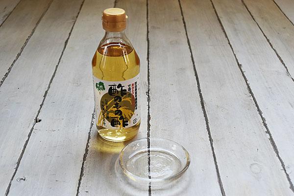 センナリさんの有機米あきたこまち100%で造った酢のもの酢