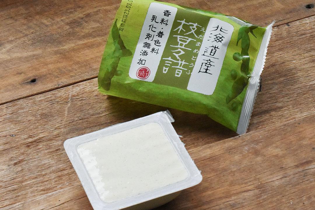 椿き家さんの枝豆豆腐130g