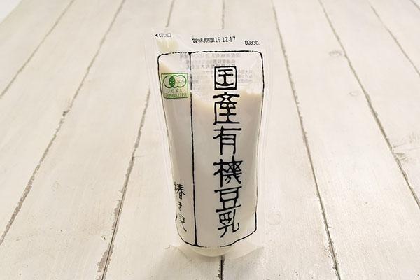椿き家さんの国産有機豆乳