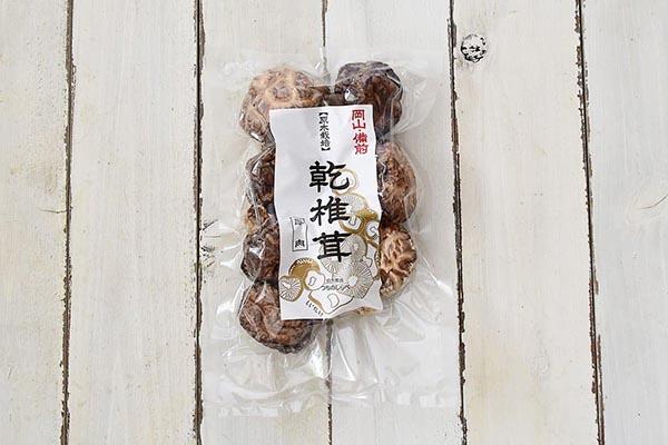 井上さんの原木乾椎茸(岡山県産)