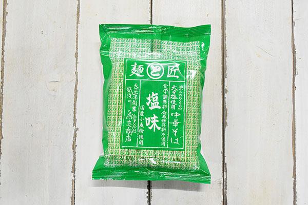鳥志商店さんの博多中華そば・塩味