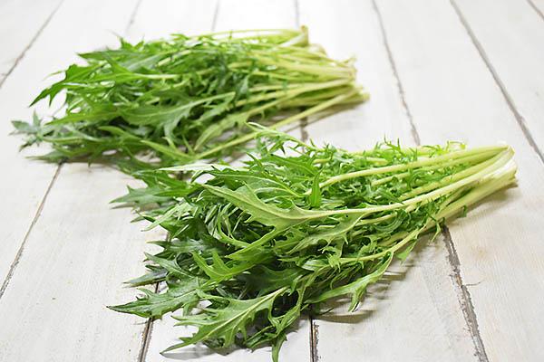 野田さんの千筋白茎水菜(兵庫県産)