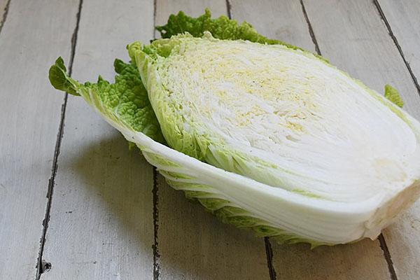 戸島さんの白菜1/2(山口県産)