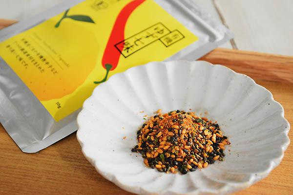 和田萬さんの有機ゆず七味