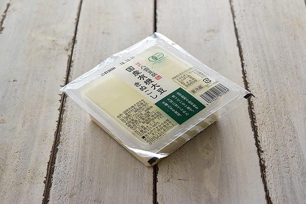 木村さんの豆腐・有機大豆きぬこし(兵庫県産)