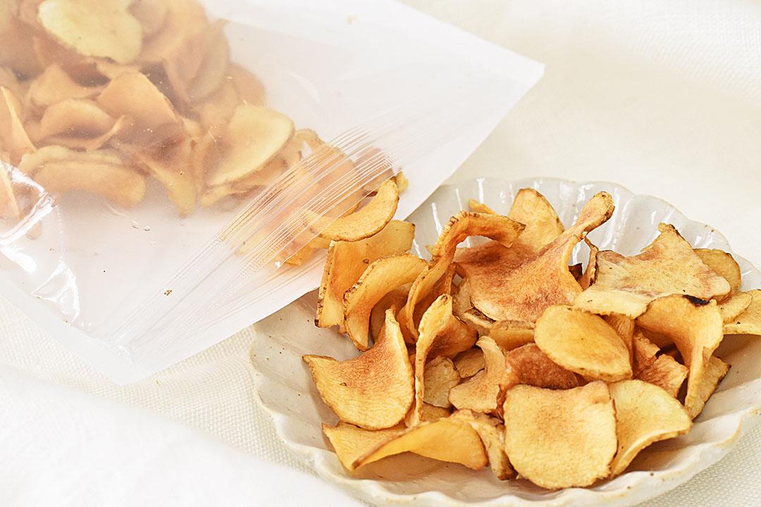 川崎さんの菊芋チップス(京都府産)