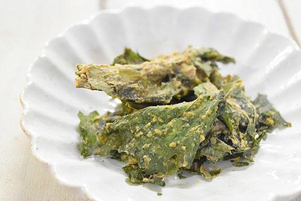 宮入さんのケールチップス・くるみチーズ(長野県)